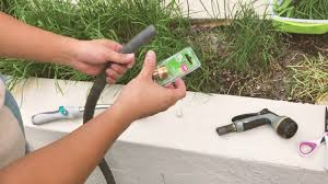 super easy garden hose repair how to replace broken garden hose connectors