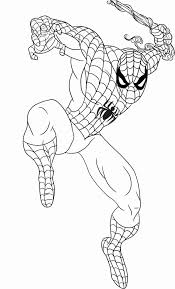 While coloring spiderman is more ideal for your elder kids, these are also a great way of developing motor skills in your younger child. Free Motorcycle Coloring Pages Meriwer Coloring