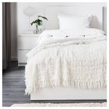 wellsuited white throw rug ofelia ikea