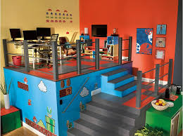 11 Best Game Room Images On Pinterest  Video Game Basement Cool Gaming Room Designs