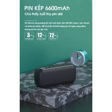 Loa bluetooth không dây 60W công suất lớn chống nước IPX5 sạc nhanh Type C  PKCB - Hàng chính hãng