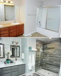 master bathroom shower tile rock
