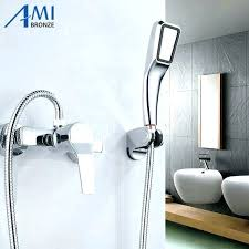 wall mounted tub faucets shower tub faucet sets wall mounted bathroom bath mixer tap wall mounted tub faucets amazing industrial bathroom