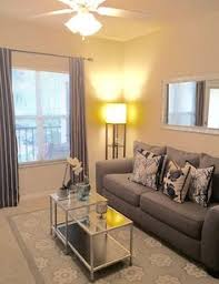 Small Space Living. Nautical Navy And Grey Apartment Living Room On A  Budget! Idea
