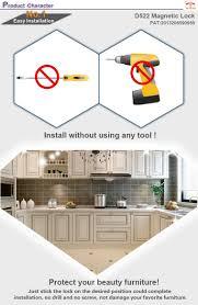 Hidden Drawer Lock Ew Baby Safety Hidden Lock Cabinet Door Magnetic Door Lock Buy