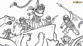 Small Picture Lego Ninjago Printable Coloring Pages Free Coloring Pages