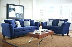 blue walls brown furniture. Dark Blue Couch Walls Brown Furniture Light Sofa