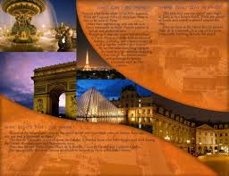 Travel Brochure Example Paris