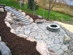 rock patio ideas rock patio landscaping lovable natural stone patio ideas paving stone patio design ideas