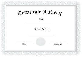 Blank Voucher Template Plain Certificate Template
