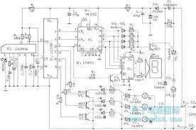 multi function remote control ceiling fan sd control circuit circuit diagram remote control ceiling fan