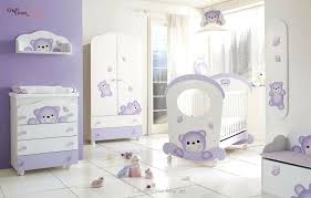nursery bedroom sets furniture cute white and purple crib design with teddy bear baby furniture design