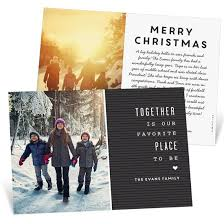 Timeline Holiday Cards Favorite Letterboard Christmas Card