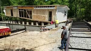 modular home moving, modular home set up, set up modular home