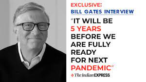 Bill Gates: It will be 5 years before we are fully ready for next pandemic  | Bill Gates Interview - YouTube