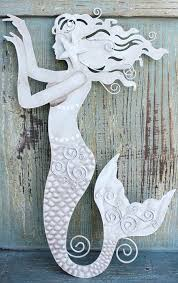wooden mermaid wall hanging endearing decor canada 5