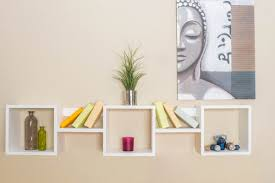 wall shelves uk x: wall shelf junco  solid pine wood white finish h x w x d cm