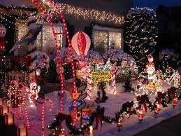 Candy Cane House Decorations Best Neighborhoods For Holiday Home Decorations CBS San Francisco 26