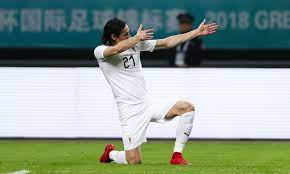 Please email me with any questions. Wales 0 1 Uruguay China Cup Final Result Daily Mail Online
