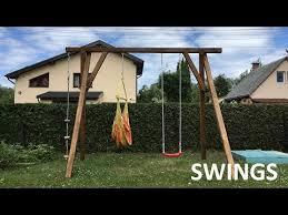 swings build how to make swings on diy
