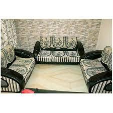 cotton chenille designer 7 seater sofa