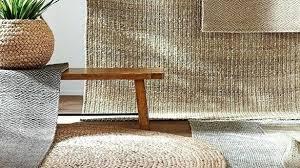 last chance wool jute rug border round sand pottery barn chunky