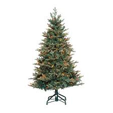 6ft Prelit Artificial Christmas Tree Rose Gold Slim Alberta Clear Artificial Christmas Tree Without Lights