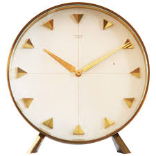 junghans table or desk clock from 1960s