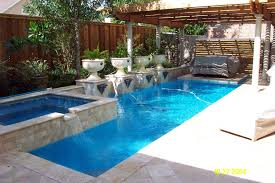 Luxury Swimming Pool Spa Design Ideas Collection With Back Yard