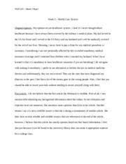 hum week critical thinking reflection critical thinking  2 pages hum 115 week 3 opinions paper