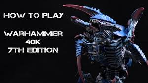 How To Play Warhammer 40k 7th Ed Part 3 Force Org Chart And Building A List