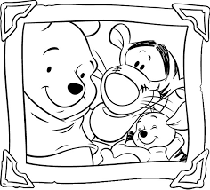 Small Picture Winnie The Pooh Coloring Pages Cartoon Disney 14623