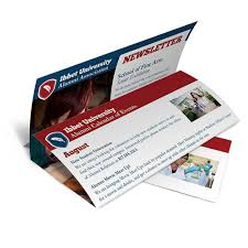 Sample Business Newsletter Stunning Newsletter Printing Business And Company Newsletters 48HourPrint