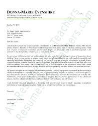 Teacher Recommendation Resumes Elementary Education Cover Letter Format Teacher Recommendation