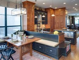 interior design vintage black wooden art and craft kitchen dining room interior design with great lighting