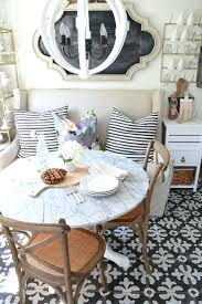 round table for small kitchen banquette style seating in a small space ikea kitchen table small