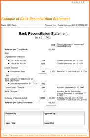 Bank Reconciliation Forms Bank Bank Reconciliation Form 5