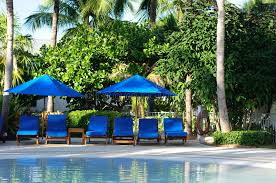 chaise lounge chairs by the pool stock photo image of relax climate
