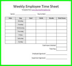 Biweekly Time Sheet Calculator