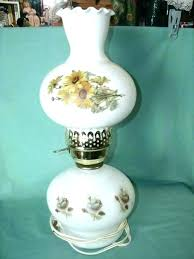 milk glass lamp shade vintage floor with hobnail corning