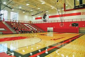 high school gym. New Gym High School I