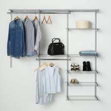 rubbermaid configurations closet kits 3 6 deluxe titanium com