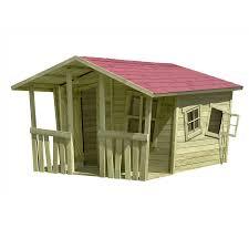 Kinder Spielhaus Lisa Fun Aus Holz Gartenhaus Holzhaus Von Gartenpirat