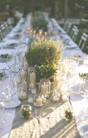 Rustic Luxury; An Al Fresco Tuscan Wedding. Romantic Table SettingOutdoor  ...