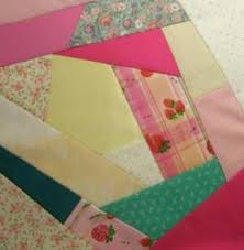 Piecing a Crazy Quilt Block & On adding corner pieces I tried to ensure that they were all different  shaped and sized triangles. I balanced the existing dark pink patch with a  second ... Adamdwight.com