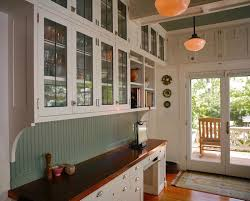 Kitchen Cabinets Beadboard Contemporary Cabinetry In 20s Style Beadboard Cabinets With