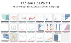 Tableau Tip Tuesday The Information Lab Zen Master Webinar