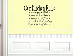 our kitchen rules vinyl wall sayings promotion ping for promotional words art decals country homes
