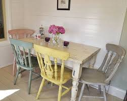fabulous shabby chic round dining table and chairs best ideas about shab chic chairs on