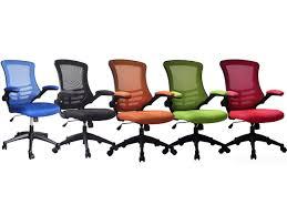 orange office furniture. Luna Designer Mesh Operator Chair In Black, Blue, Green, Red Or Orange Office Furniture